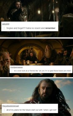 The Hobbit + text posts: Thorin. these are too funny Gandalf, Legolas, John Barrowman, O Hobbit, Hobbit Funny, Concerning Hobbits, Bagginshield, Into The West, And So It Begins