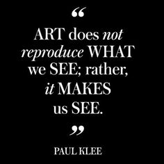 What do you see? #paulklee #artquotes #inspirationalquotes #creativity #creativitymatters #artclasses #bestartclasses #beyou #selfexpression #art #artist #yourcanvas #lovelife #inspiration #painting #drawing #expressyourself #artistofyourlife #health #artandsoul #nycart #nyart #theartstudiony #creativelife Reposted Via @theartstudiony