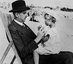 De Gaulle con sua figlia Anne