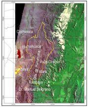El ambiente natural de la Quebrada de Humahuaca