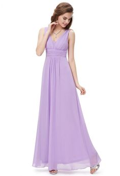 Ever-Pretty Women's Elegant Long V-Neck Evening Party Maxi Dress Prom Gown Bridesmaid Plus Dresses for Women 08110 (Lavender 16 US) Women's Evening Dresses, Formal Dresses, Formal Wear, Stylish Dresses, Allure Bridesmaid Dresses, Bridesmaids, Dress Vestidos, Maxi Dresses, Party Dresses