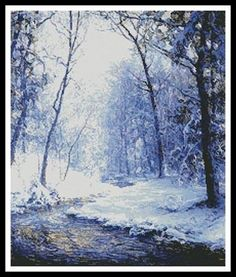 Early Snow - X Squared Cross Stitch