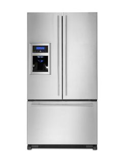 Jenn-Air Euro-Style French Door Refrigerator Model # JFI2589AES, $2,499
