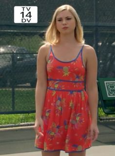 """Laurel's Cooperative Knit Cironella Sundress The Lying Game Season Episode 10 """"To Lie For"""" - Spotted on TV The Lying Game, Alexandra Chando, Blair Redford, Who You Love, Disney Shows, Fashion Tv, Pretty Little Liars, Favorite Tv Shows, Style Guides"""