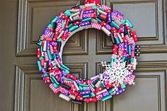 Frozen Party Wreath  -  evite.com