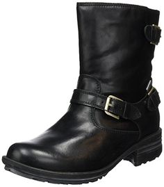 Josef Seibel Women's Sandra 30 Cold Lined Calf-Length Boots and Ankle Boots  Black Size