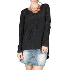 Compozitie material:100%polyester Urban, Long Sleeve, Sleeves, Tops, Women, Fashion, Moda, Long Dress Patterns, Fashion Styles