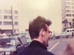 Morrissey, before the The Smiths' GLC gig...