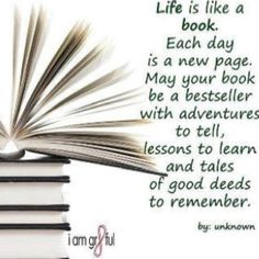 Well said ... because as we all know, Literature is Life!