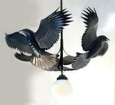 Raven Chandelier by bethany