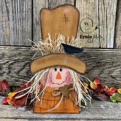 Wood Scarecrow, Scarecrow Crafts, Fall Scarecrows, Halloween Scarecrow, Halloween Pumpkins, Fall Halloween, Halloween Canvas, Fall Wood Crafts, Halloween Wood Crafts