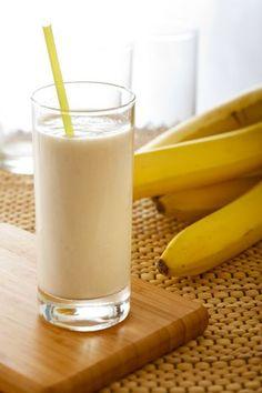 Lemon Drop: Banana Vanilla Protein Shake