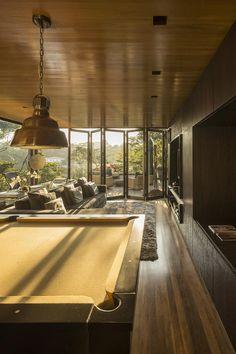Galeria da Arquitetura   Casa Limantos - Metal, concreto e madeira predominam no projeto