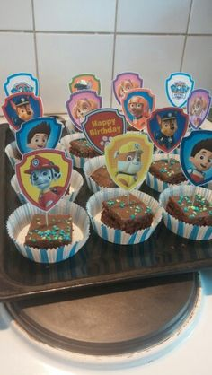 Paw Patrol Birthday party for a 5 years old boy