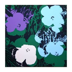 Flowers made by Sunday B. Morning Authorzied Andy Warhol Reproductions. Love this#Repin By:Pinterest++ for iPad#