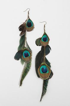Peacock Earrings...$29 is a little high for earrings to me. I think I will find the other ones that are cheaper