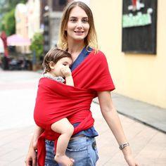 Fashion Infant Sling Soft Natural Wrap Carrier