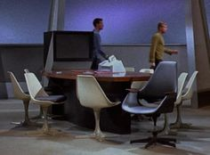 Saarinen's Tulip Chair from Star Trek: The Motion Picture.
