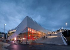 cultural centre in Molde Norway by 3XN