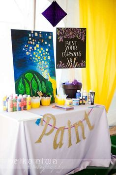 Rapunzel/ Tangled/ Princess Birthday Party Ideas | Photo 2 of 29 | Catch My Party