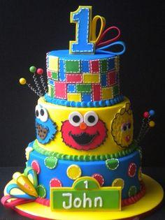 Still thinking if my babys 1st birthday theme should be Sesame street!