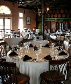 Chateau Elan Dining : Cafe Elan located in the Winery, Mediterranean Style Bistro  Braselton GA