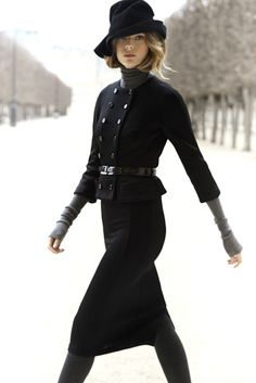 Dior. Black. Classic.
