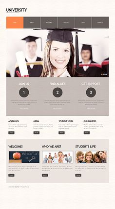 University Online WordPress Themes by Cowboy