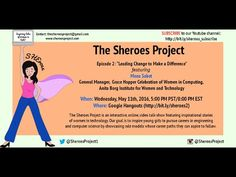 "Sheroes Episode 2: ""Leading Change to Make a Difference"" - YouTube"