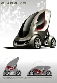 Embryo Eco Friendly Car Concept | Tuvie