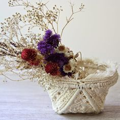 Retro decor. Decorative bowl. #Macrame home decor. by RetoDecor, $120.00