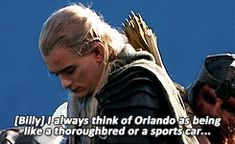 LOTR orlando bloom legolas his breath smells like flowers good lord I love the whole of this cast