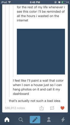 Thatll be one wall, another will be TARDIS blue. Idk bout the other two yet