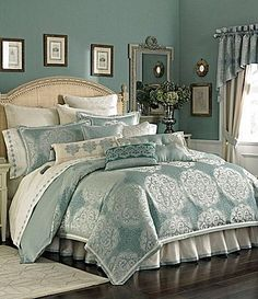 Romance Luxury Bedding Ensemble | ... Bedspreads on Reba Newport Reversible Bedding Collection Dillards Com