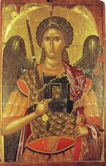 Orthodox icon of Archangel Michael(5).