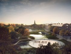 Gallery of Masterplan by SLA and Saunders Aims to Alleviate Flooding in Copenhagen - 1