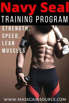 Navy Seal Training Program: Intense Workout Routine To Build Lean Muscles - If you are looking for something genuinely intense and challenging, then the Navy Seal workout prog - Workout Plan For Men, Gym Workouts Women, Workout Routine For Men, Workout For Beginners, Workout Plans, Workout Programs For Men, Workout Challange, Exercise Plans, Men Exercise