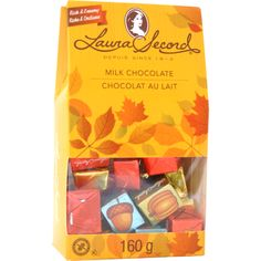 Milk Chocolate Fall Gifts Pouch 160 g – Products @` Laura Secord