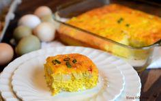 Easy Egg and Potato Breakfast Casserole recipe
