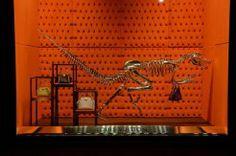 Anche i #dinosauri amano #LouisVuitton e invadono #LaRinascente di #Milano. #borse #retail #vetrine #desing #innovation #gruppopozziretail