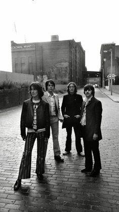 Richard Starkey, John Lennon, Paul McCartney, and George Harrison Liverpool Beatles Love, Beatles Photos, Great Bands, Cool Bands, Liverpool, Richard Starkey, John Lennon Paul Mccartney, British Invasion, Lonely Heart
