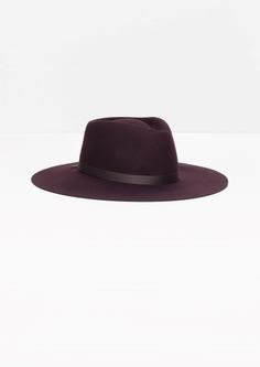 & Other Stories | Wide Brim Wool Hat
