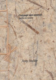 #Share #Book of the Week: Ontsnapt aan opsmuk by Hetty Mulder