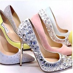 Jimmy Choo, I could wear these daily. They would match anything! & screw it if you don't think so