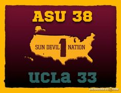 CONGRATULATIONS to Everybody in Sun Devil Nation!