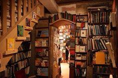 Beautiful book cave