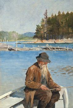 Albert Edelfelt | Realist / Plein air painter.