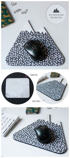 How To #Diy Mountain #Mouse #Pad
