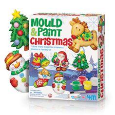 Mould & Paint Christmas Kit
