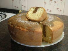 Taringa! El mejor Bizcochuelo casero (común y marmolado) Vegan Recipes Easy, My Recipes, Cake Recipes, Cake Cookies, Cupcake Cakes, Pan Dulce, Pastry Recipes, Cookies And Cream, Bakery